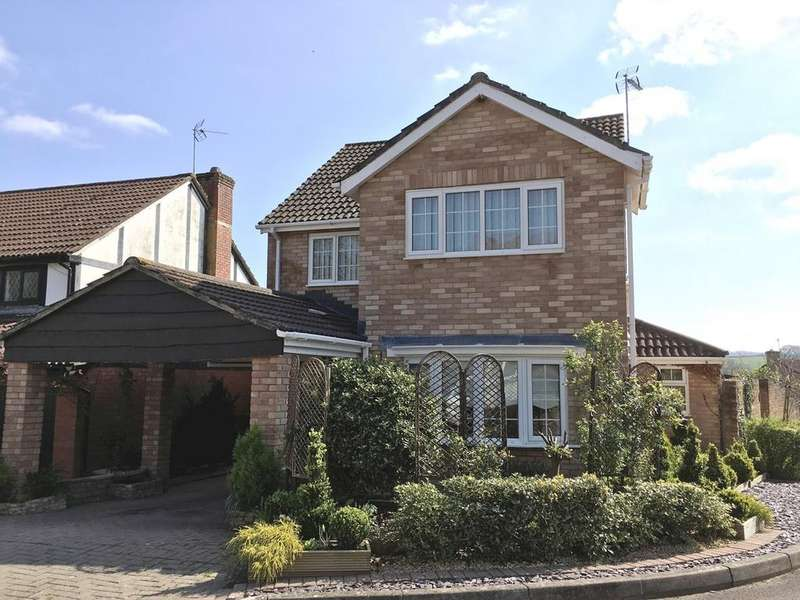 4 Bedrooms Detached House for sale in Adam Close, Usk, NP15