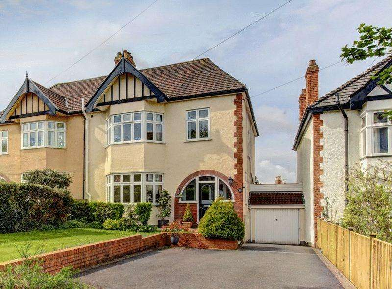 4 Bedrooms Semi Detached House for sale in Southfield Road, Westbury on Trym