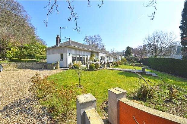 3 Bedrooms Detached Bungalow for sale in Leckhampton Hill, CHELTENHAM, Gloucestershire, GL53 9QW