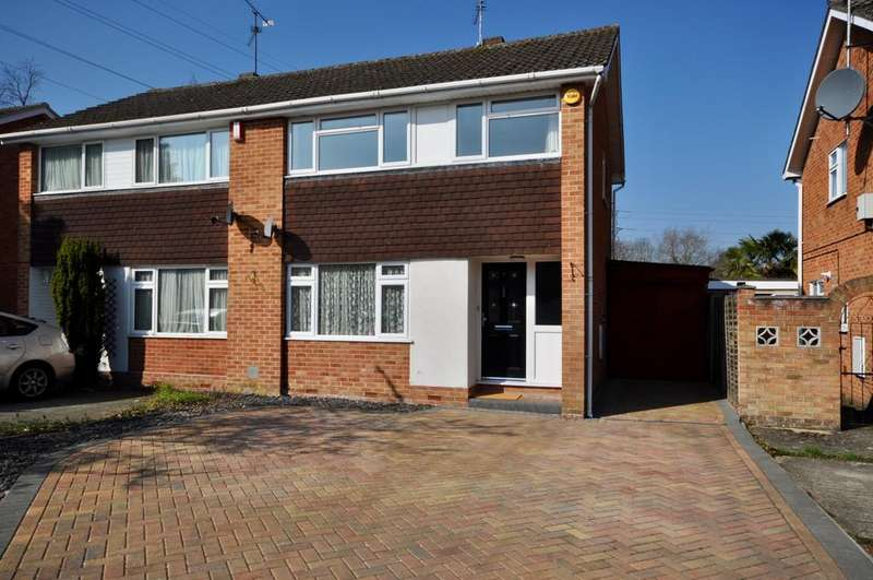 3 Bedrooms Semi Detached House for sale in Bodmin Road, Woodley, Reading, RG5 3RZ