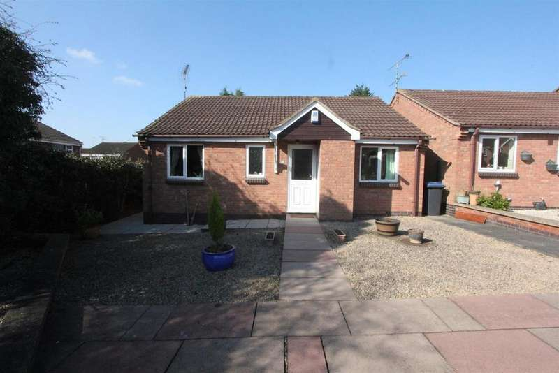 2 Bedrooms Detached Bungalow for sale in Coniston Court, Earl Shilton