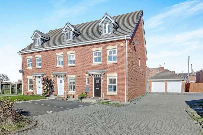 3 Bedrooms Property for sale in Manor Court, Newbiggin-By-The-Sea, NE64