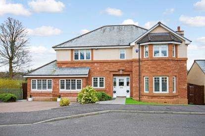 5 Bedrooms Detached House for sale in Shepford Place, Coatbridge