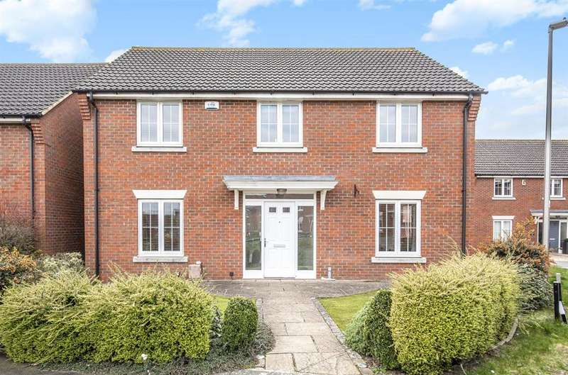 5 Bedrooms Detached House for sale in Woodpits Lane, Olney, Buckinghamshire