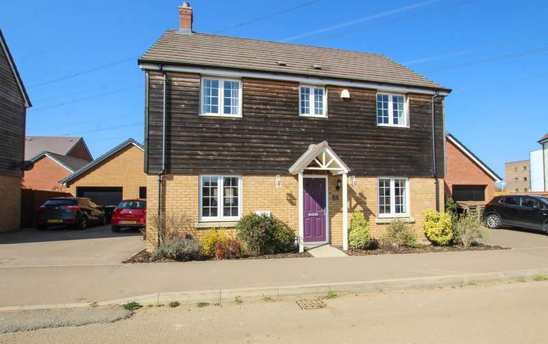 4 Bedrooms Detached House for sale in Theedway, Leighton Buzzard
