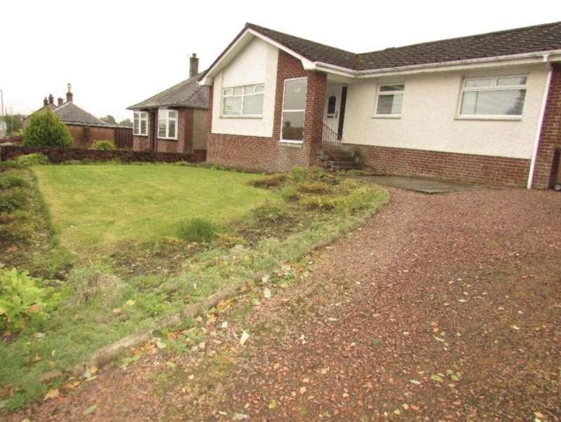 3 Bedrooms Detached Bungalow for sale in Leggate, New Cumnock KA18