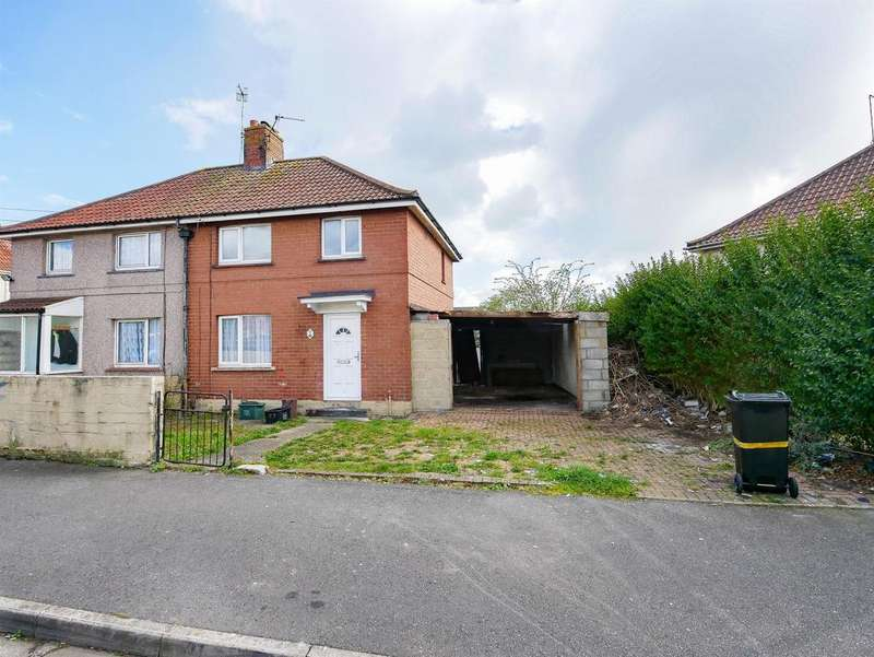 3 Bedrooms Semi Detached House for sale in Wallingford Road , Knowle, Bristol, BS4 1SP