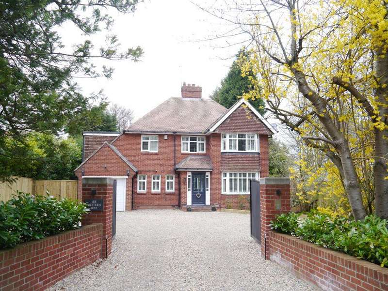 3 Bedrooms Detached House for sale in Western Way, Darras Hall, Newcastle Upon Tyne