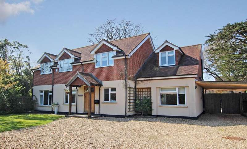 4 Bedrooms Detached House for sale in BUTTS ASH