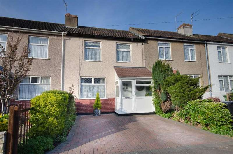 2 Bedrooms Terraced House for sale in West Park Road, Downend, Bristol, BS16 5SH