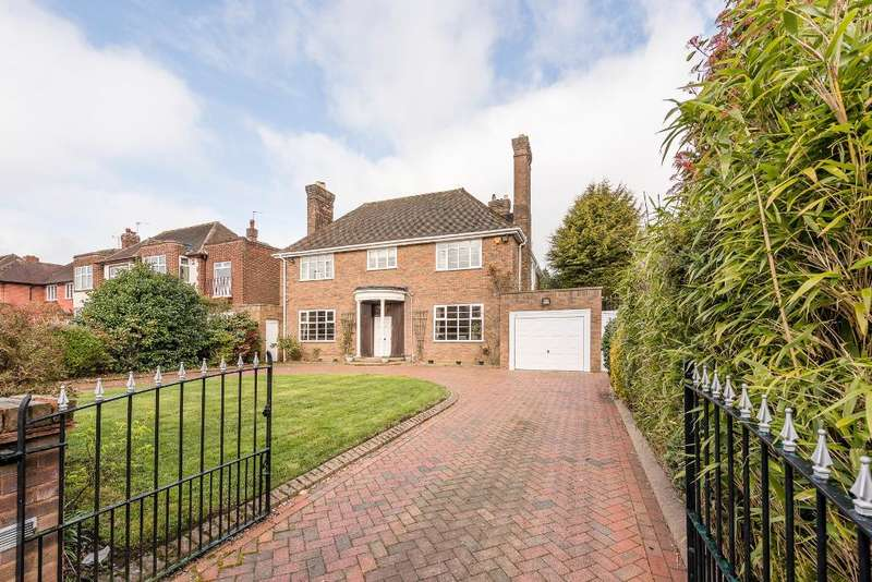 4 Bedrooms Detached House for sale in Fitzroy Avenue, Harborne, Birmingham, B17 8RQ
