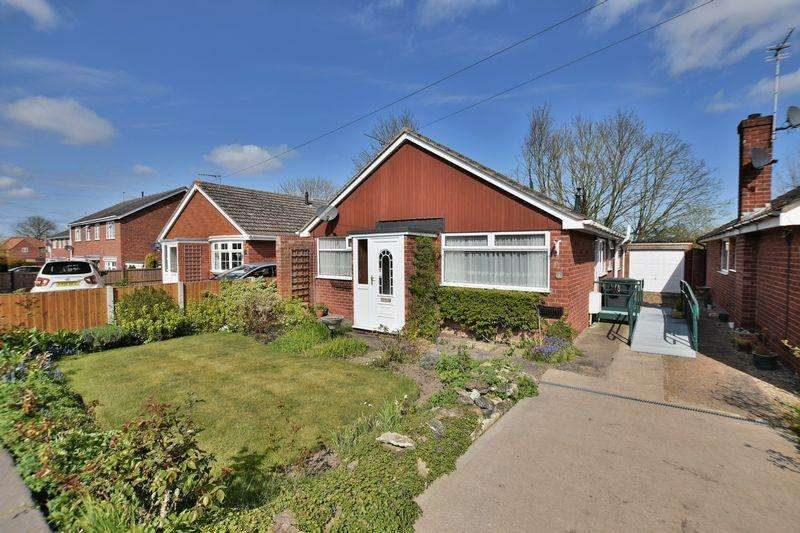 3 Bedrooms Detached Bungalow for sale in Somerville Close, Waddington, Lincoln