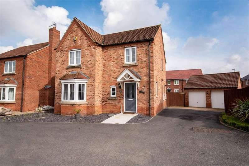 4 Bedrooms Detached House for sale in St Thomas Drive, Boston, Lincolnshire