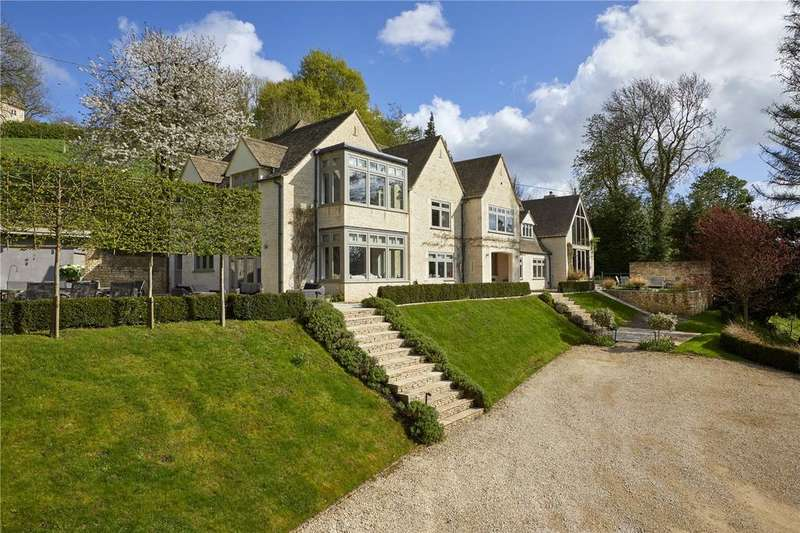 6 Bedrooms Detached House for sale in Theescombe, Amberley, Stroud, Gloucestershire, GL5
