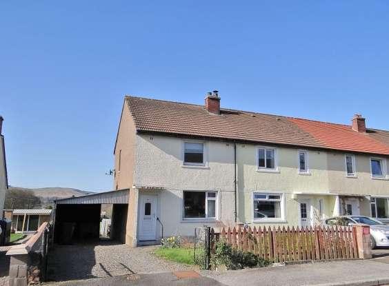 2 Bedrooms Property for sale in Townsend Crescent, Castledouglas, Kirkcudbrightshire, DG7 3UR
