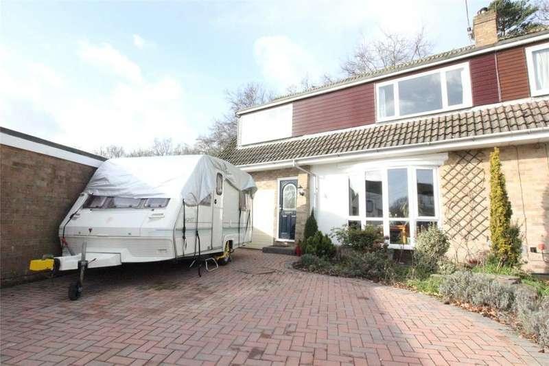 4 Bedrooms Semi Detached House for sale in Hazel Drive, Woodley, Reading, Berkshire, RG5