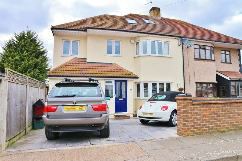 4 Bedrooms Semi Detached House for sale in Stanhope Road, Bexleyheath, Kent, DA7 4PU