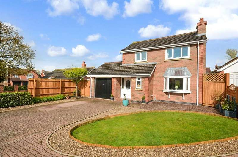3 Bedrooms Detached House for sale in Dorian Rise, Melton Mowbray, Leicestershire