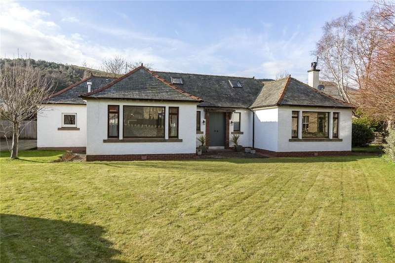4 Bedrooms Detached House for sale in Glentrail, Traquair Road, Innerleithen, Scottish Borders