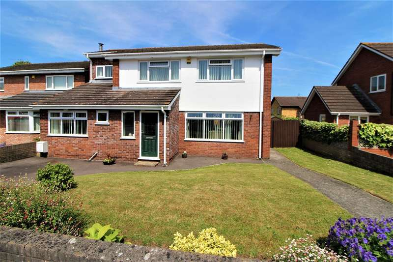 5 Bedrooms Detached House for sale in Budden Crescent, Caldicot
