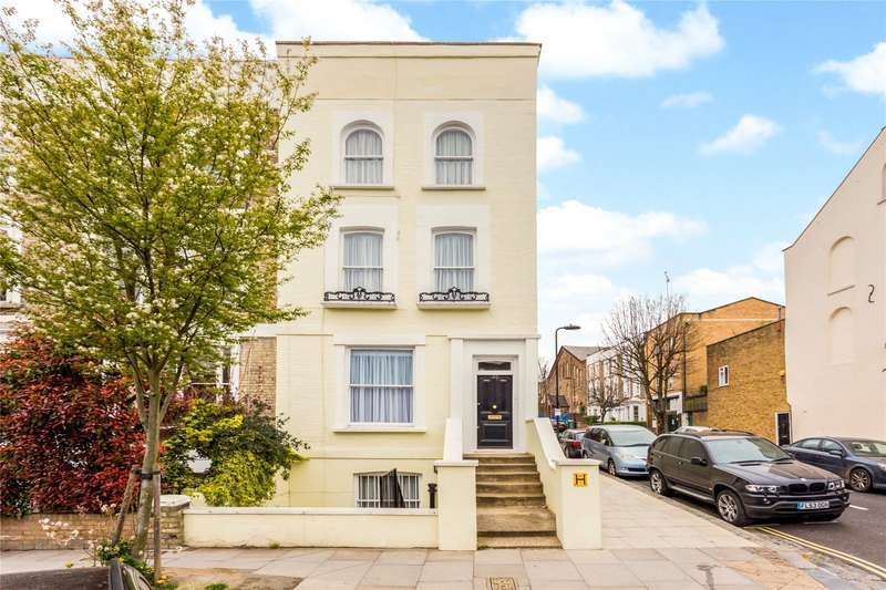 4 Bedrooms End Of Terrace House for sale in Queens Crescent, Chalk Farm, London, NW5