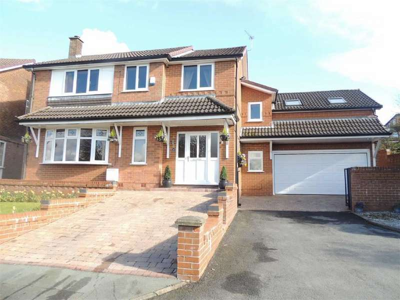 5 Bedrooms Detached House for sale in Hillcrest, Gee Cross, Hyde