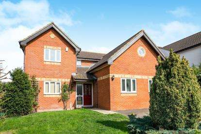 5 Bedrooms Detached House for sale in Hilltop View, Meppershall, Shefford, Beds