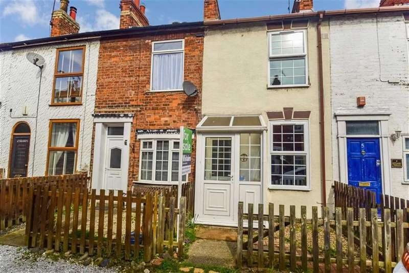 2 Bedrooms Terraced House for sale in Rutland Terrace, College Street, HULL, HU7