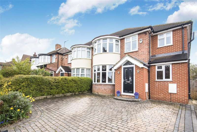 4 Bedrooms Semi Detached House for sale in Stanhope Road, Reading, Berkshire, RG2