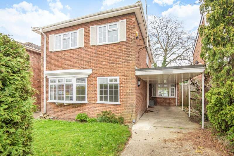 4 Bedrooms Detached House for sale in Culham Drive, Maidenhead, SL6