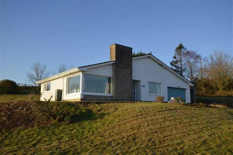 3 Bedrooms Bungalow for sale in Bryn Hebog, Castell Flemish, Tynreithyn, Tregaron, SY25