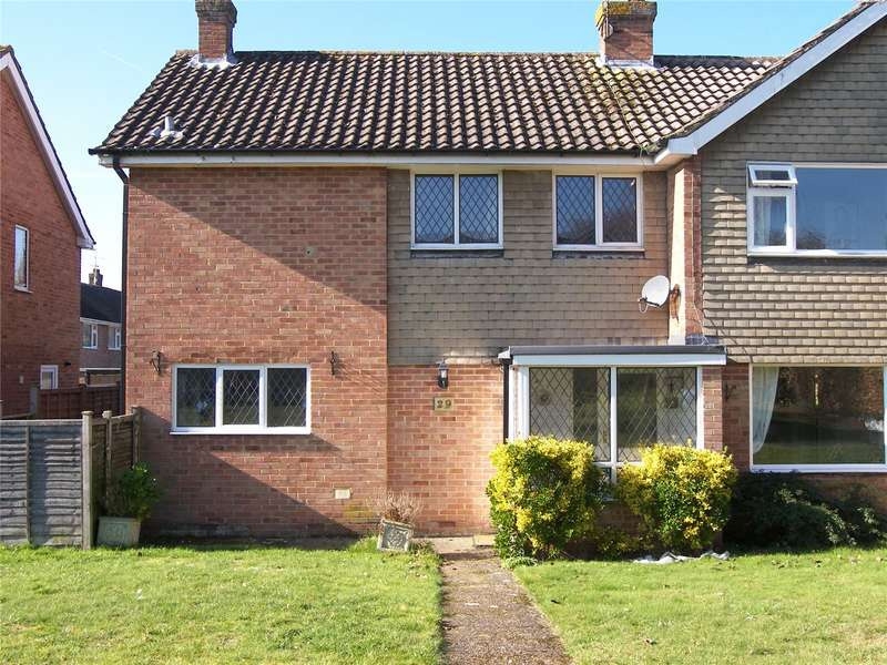 3 Bedrooms Semi Detached House for sale in Chaseside Avenue, Twyford, Reading, Berkshire, RG10