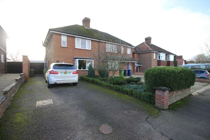 3 Bedrooms Semi Detached House for sale in West Road, Gamlingay, Sandy, Cambridgeshire, SG19