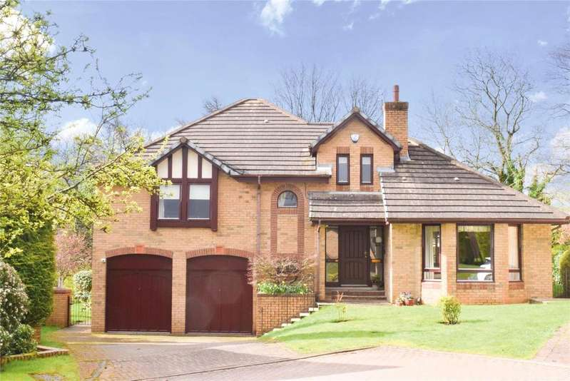 4 Bedrooms Detached House for sale in Schaw Drive, Bearsden