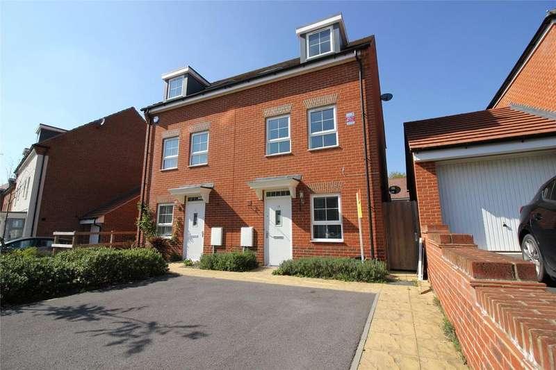 3 Bedrooms Semi Detached House for sale in Windsor Crescent, Wokingham, Berkshire, RG40