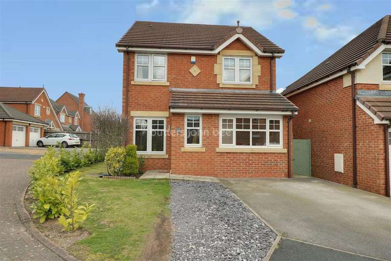 3 Bedrooms Detached House for sale in Kidston Drive, Crewe, Cheshire