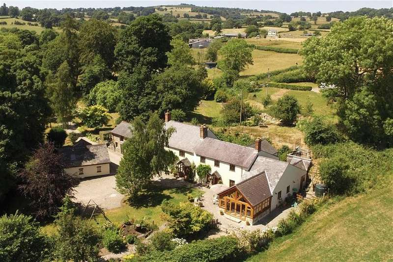 4 Bedrooms Country House Character Property for sale in Selattyn, Oswestry, SY10