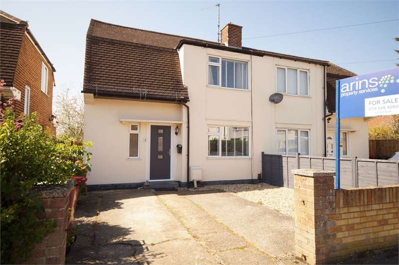2 Bedrooms Semi Detached House for sale in Farrowdene Road, READING, Berkshire