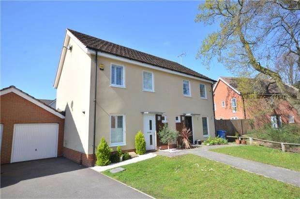 3 Bedrooms Semi Detached House for sale in Lysander Drive, Bracknell, Berkshire