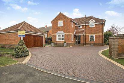 5 Bedrooms Detached House for sale in Paddocks View, Long Eaton, Nottingham, Nottinghamshire