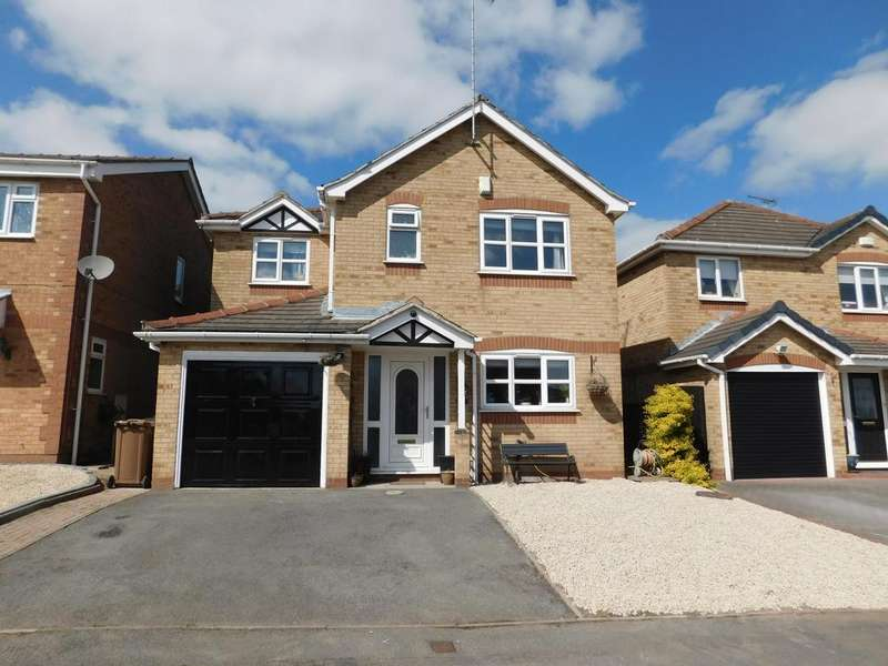 4 Bedrooms Detached House for sale in Sorrel Drive, Woodville, DE11
