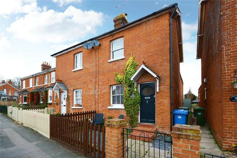 2 Bedrooms Semi Detached House for sale in Honeysuckle Cottages, Forest Road, Binfield, RG42