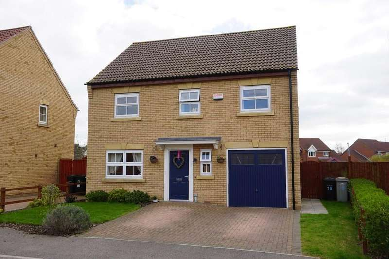 4 Bedrooms Detached House for sale in Kings Manor, Coningsby