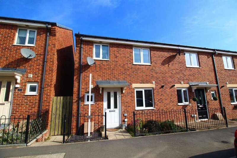 3 Bedrooms End Of Terrace House for sale in Haggerston Road, Blyth