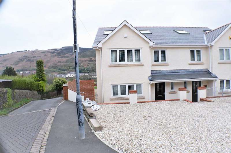 4 Bedrooms Semi Detached House for sale in Library House, 6 Institute Place, Tonypandy