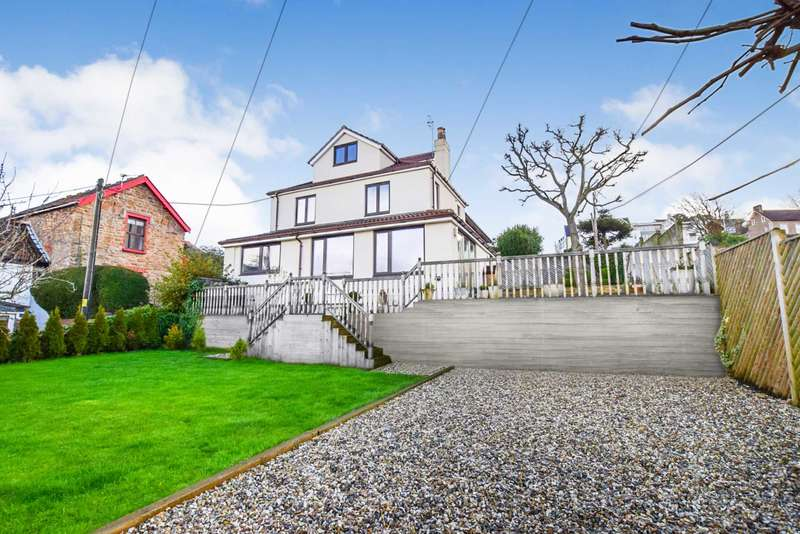 4 Bedrooms Semi Detached House for sale in Beach Hill, Portishead, BS20 7HT