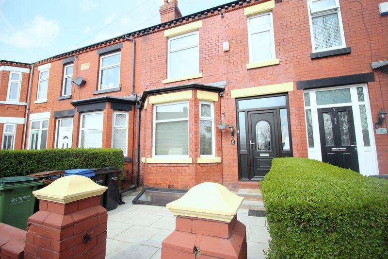 3 Bedrooms Terraced House for sale in Reddish Vale Road, Reddish