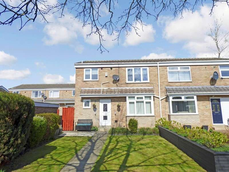 3 Bedrooms Property for sale in Girton Close, Peterlee, Durham, SR8 2NF