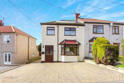 3 Bedrooms Semi Detached House for sale in Neville Road, Kingswood, Bristol