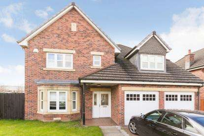 4 Bedrooms Detached House for sale in Leggate Way, Bellshill